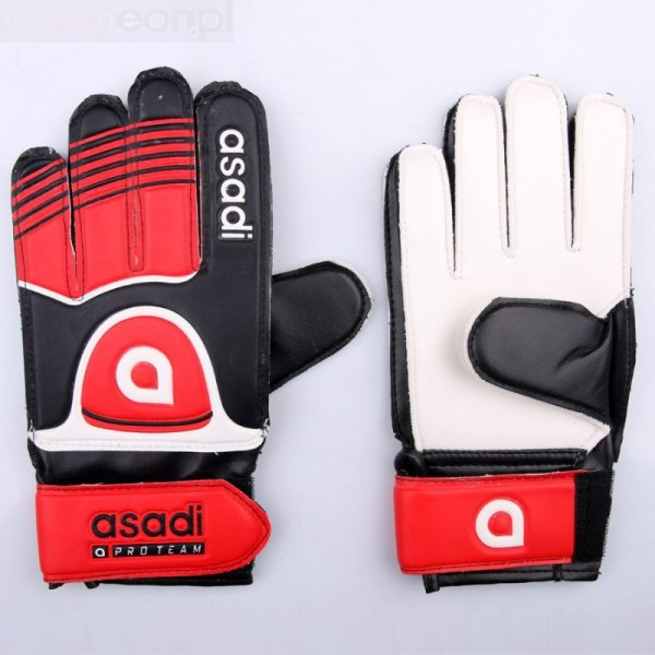 Rękawice Asadi Junior czerwony 5