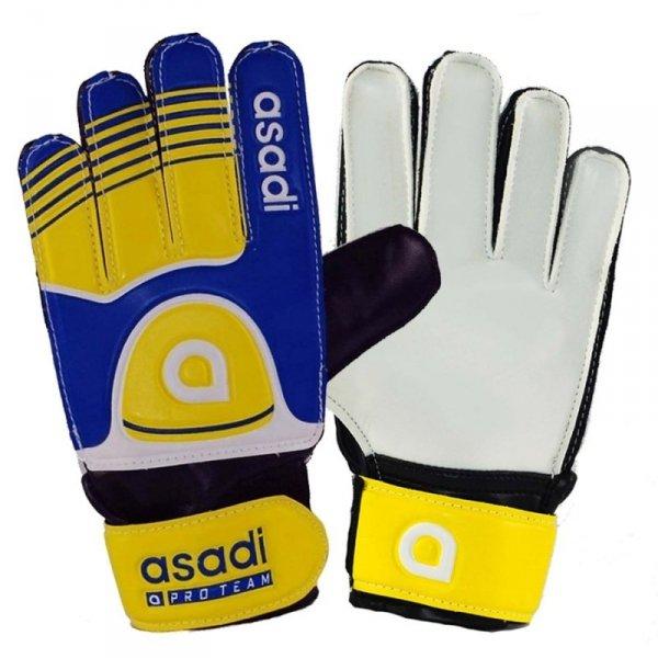 Rękawice Asadi Junior żółty 6