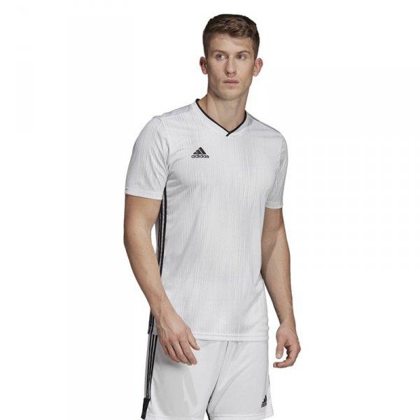 Koszulka adidas Tiro 19 JSY DP3537 biały 164 cm