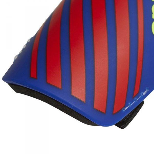 Nagolenniki adidas X Lite Guard DN8609 niebieski L