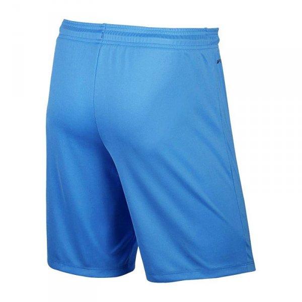 Spodenki Nike Park II Knit 725887 412 niebieski S