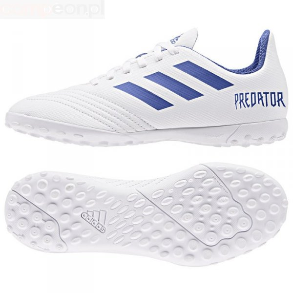 Buty adidas Predator 19.4 TF J CM8558 biały 36 2/3