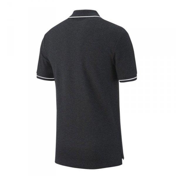 Koszulka Nike Polo Y Team Club 19 AJ1546 071 szary S (128-137cm)