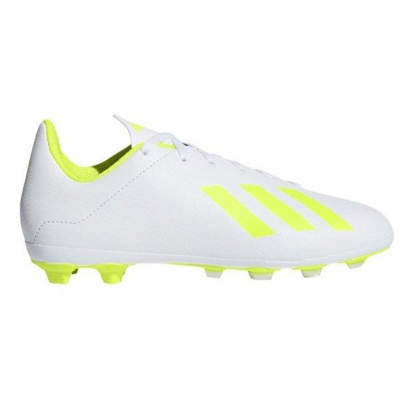 Buty adidas X 18.4 FxG J BB9380 biały 38