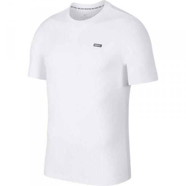 Koszulka Nike FC Dry Tee Small Block BQ7680 100 biały L