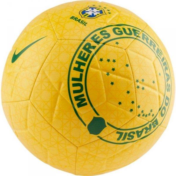 Piłka Nike Brasil CBF Strike SC3922 749 żółty 5