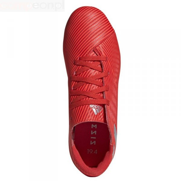 Buty adidas Nemeziz 19.4 FxG J F99948 czerwony 36 2/3