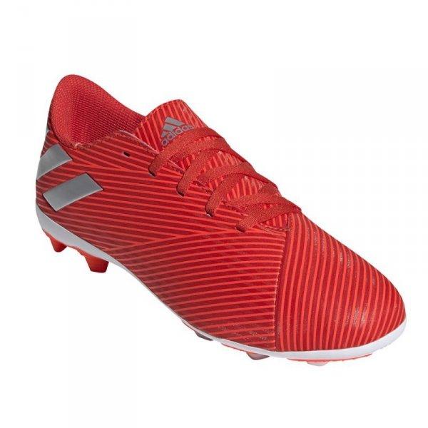 Buty adidas Nemeziz 19.4 FxG J F99948 czerwony 37 1/3