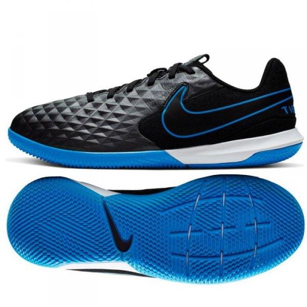 Buty Nike JR Tiempo Legend 8 Academy IC AT5735 004 czarny 37 1/2