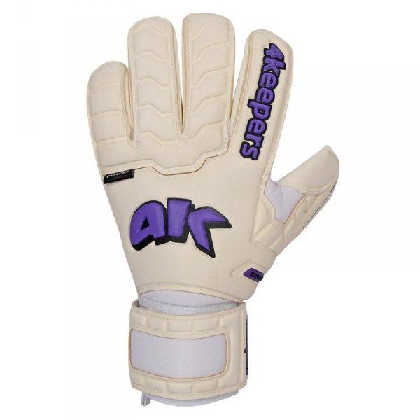 Rękawice 4keepers Champ Purple IV RF + płyn czyszczący biały 9,5