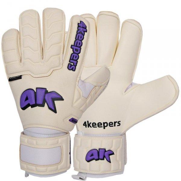 Rękawice 4keepers Champ Purple IV RF + płyn czyszczący biały 10