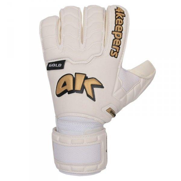 Rękawice 4keepers Champ  Gold IV RF + płyn czyszczący biały 8,5