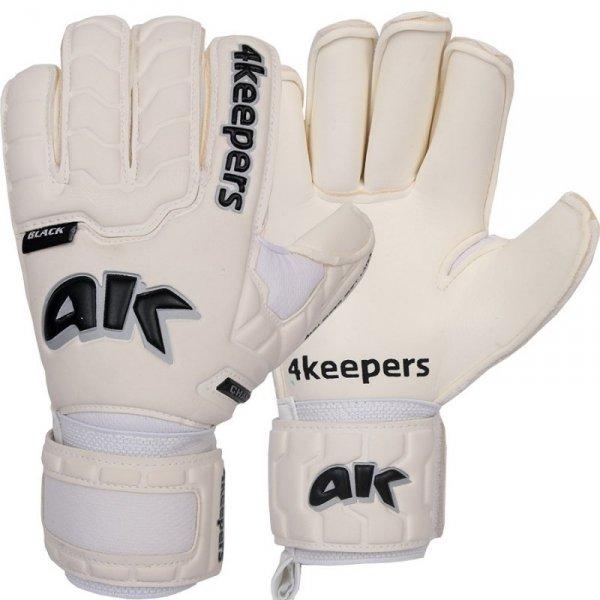 Rękawice 4keepers Champ Black IV RF + płyn czyszczący biały 8