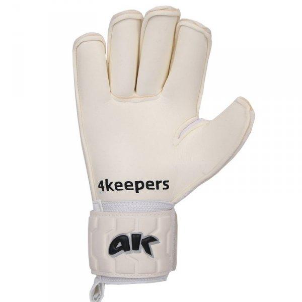 Rękawice 4keepers Champ Black IV RF + płyn czyszczący biały 9