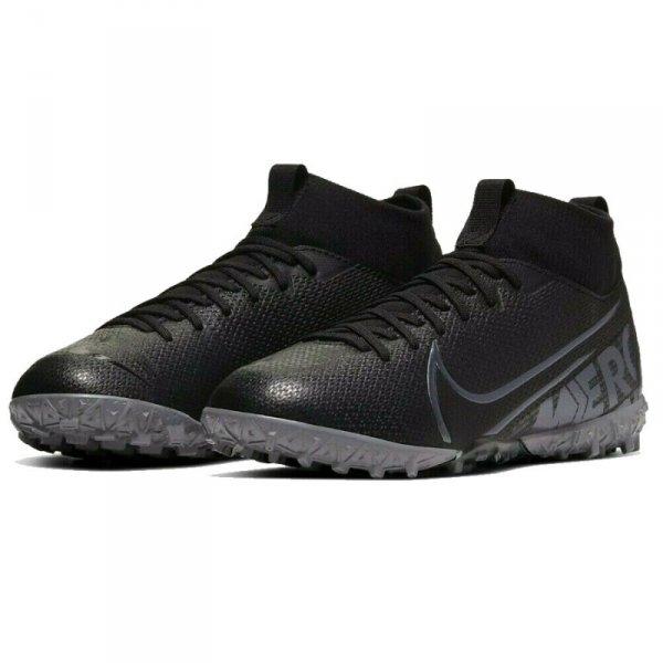 Buty Nike JR Mercurial Superfly 7 Academy TF AT8143 001 czarny 32