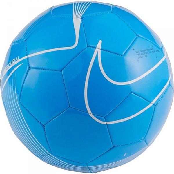 Piłka 4 Nike Merc Fade FA19 SC3912 486 niebieski 5
