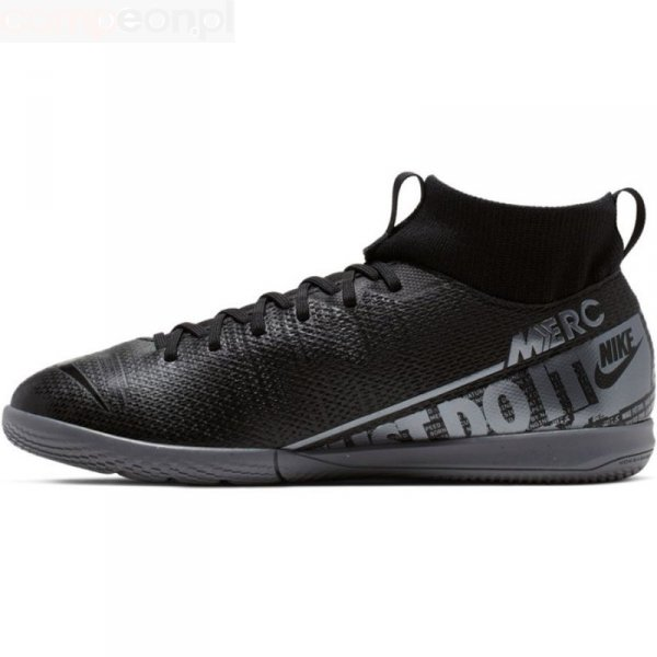 Buty Nike JR Mercurial Superfly 7 Academy IC AT8135 001 czarny 38