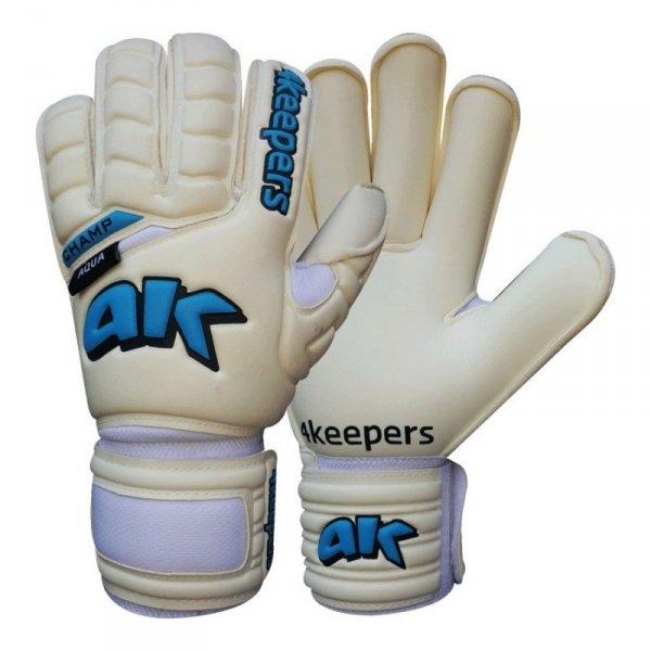 Rękawice 4keepers Champ Aqua RF IV  + płyn czyszczący S504665 biały 11