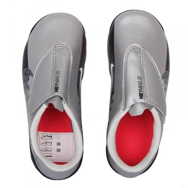 Buty Nike JR Mercurial Vapor 13 Club MG Neymar AT8164 006 szary 28