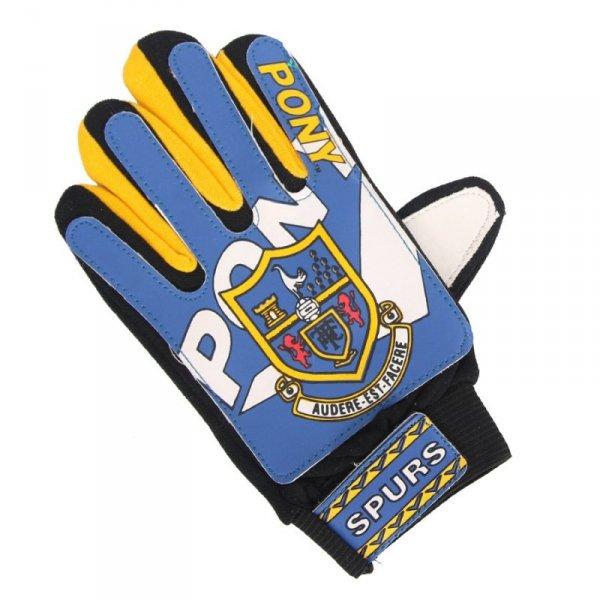 Rękawice Pony JUNIOR 36149A niebieski 5