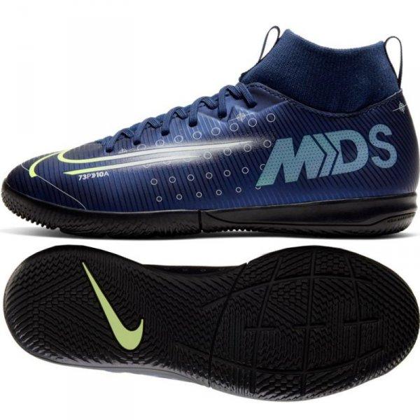 Buty Nike JR Mercurial Superfly Academy MDS IC BQ5529 401 niebieski 36 1/2
