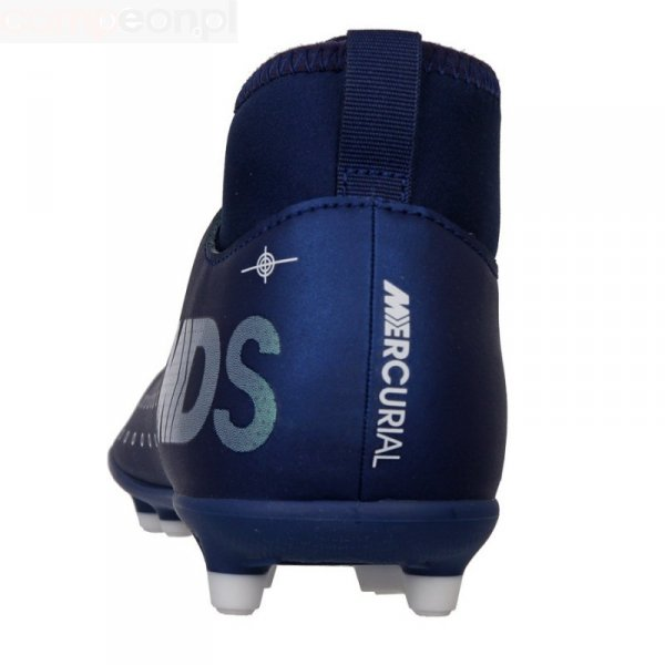 Buty Nike JR Mercurial Superfly 7 Club MDS FG/MG BQ5418 401 niebieski 38 1/2