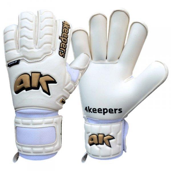 Rękawice 4Keepers Champ Gold IV HB S624822 biały 11