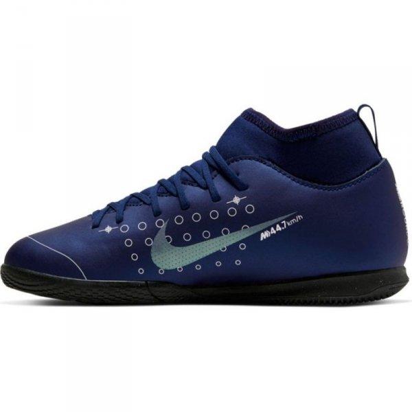 Buty Nike JR Mercurial Superfly 7 Club MDS IC BQ5417 401 niebieski 36 1/2