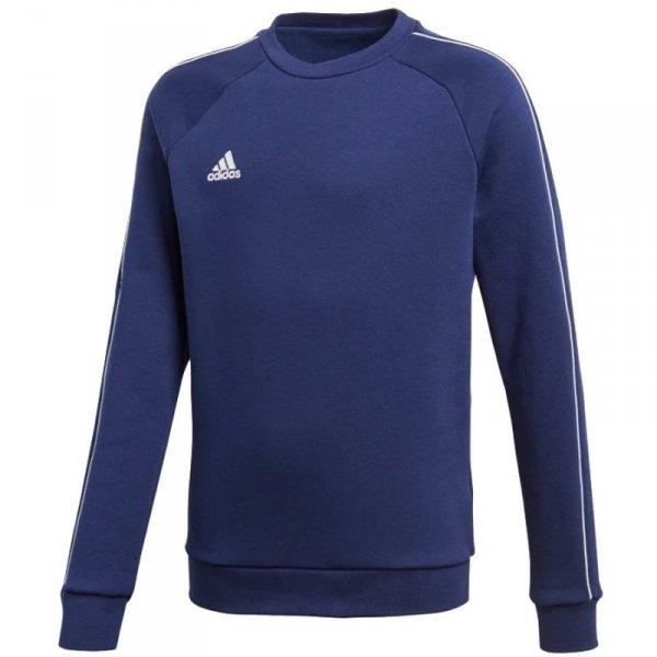 Bluza adidas CORE 18 SW Top Y CV3968 granatowy 140 cm