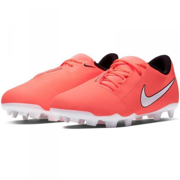 Buty Nike JR Phantom Venom Club FG AO0396 810 pomarańczowy 28