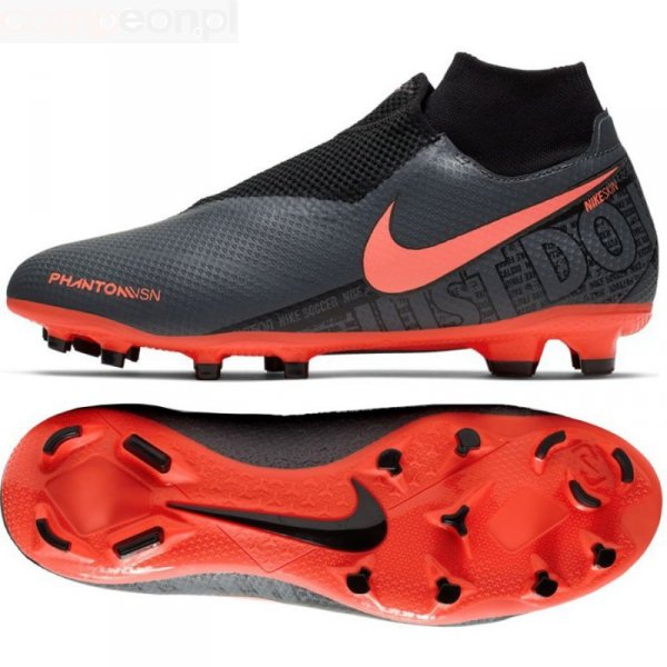 Buty Nike Phantom VSN Pro DF FG AO3266 080 szary 41