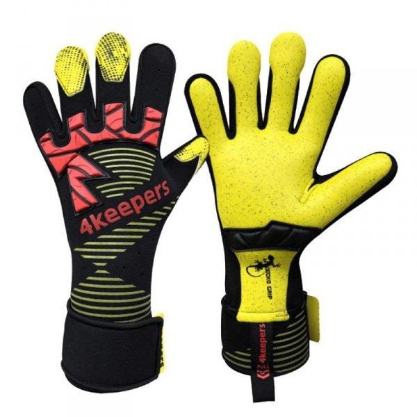 Rękawice 4keepers Gecko Pardus MNC + płyn czyszczący czarny 9,5