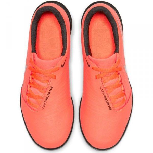 Buty Nike JR Phantom Venom Club TF AO0400 810 pomarańczowy 28