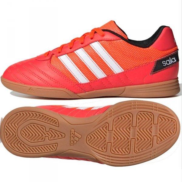 Buty adidas Super Sala J FV2639 czerwony 33