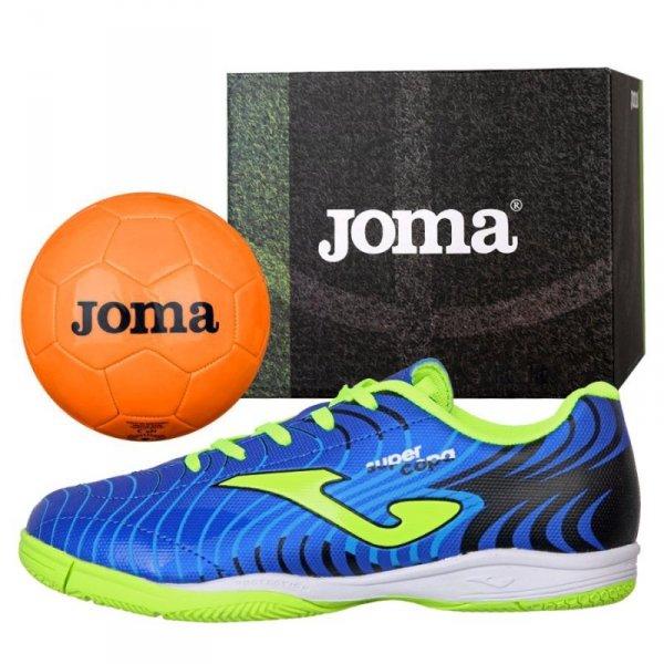 Buty Joma Super Copa JR 2004 IN SCJS.2004.IN + Piłka Gratis niebieski 28
