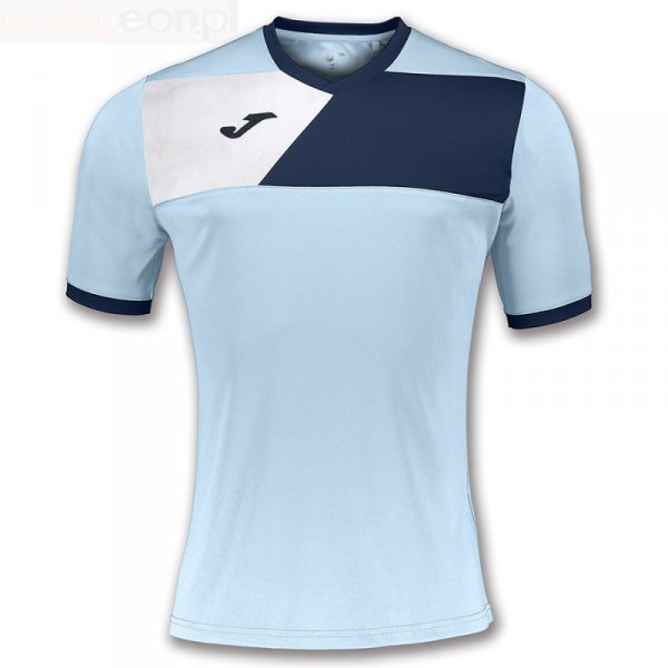 Koszulka Joma Crew II 100611.353 niebieski 128 cm