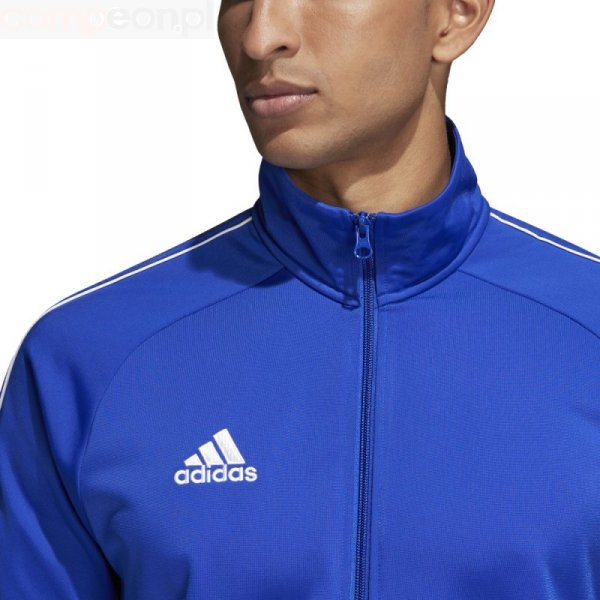 Bluza adidas CORE 18 PES JKT CV3564 niebieski S