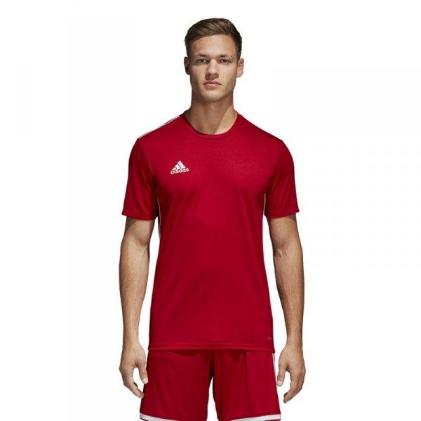 Koszulka adidas CORE 18 JSY CV3452 czerwony XL