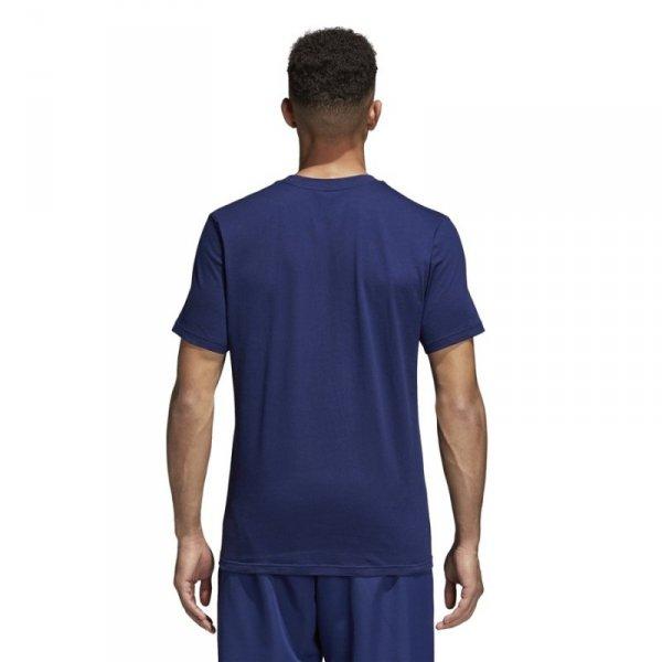 Koszulka adidas Core 18 Tee CV3981 granatowy L