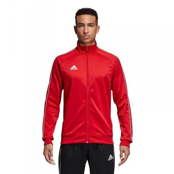 Bluza adidas CORE 18 PES JKT CV3565 czerwony XXL
