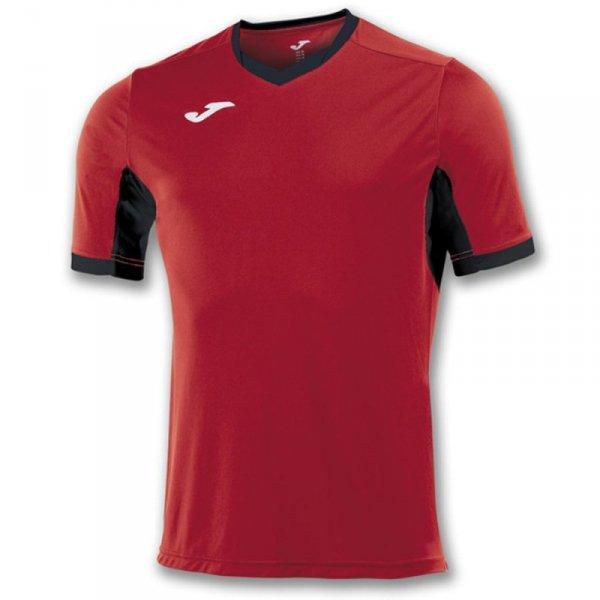 Koszulka Joma Champion IV 100683.601 czerwony 128 cm