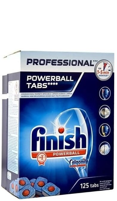 FINISH PRO POWERBALL TABLETKI DO ZMYWARKI 125szt.