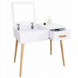 Nowoczesna toaletka kosmetyczna  z lustrem