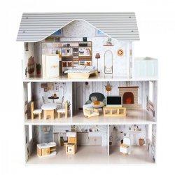 Domek dla lalek z meblami Rezydencja Emma Ecotoys