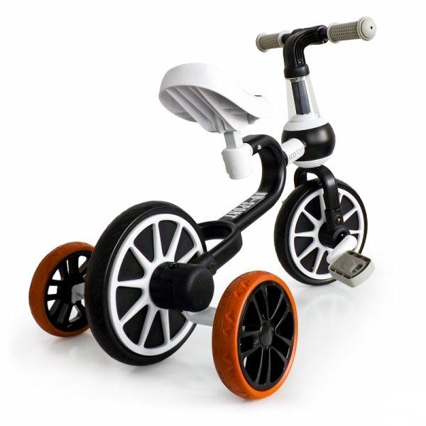 Rower rowerek biegowy 4w1 Pedały Kółka boczne