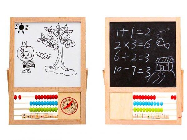 Tablica edukacyjna magnetyczna liczydło cyfry