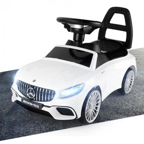 Jeździk Mercedes AMG led chodzik