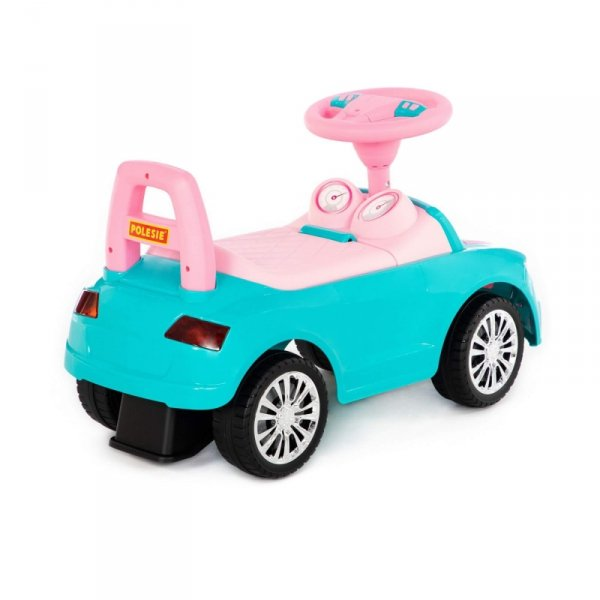 Jeździk autko SuperCar z panelem muzycznym