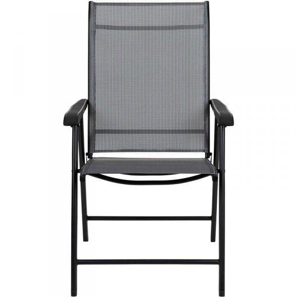 Krzesła ogrodowe zestaw krzeseł 2szt meble na taras
