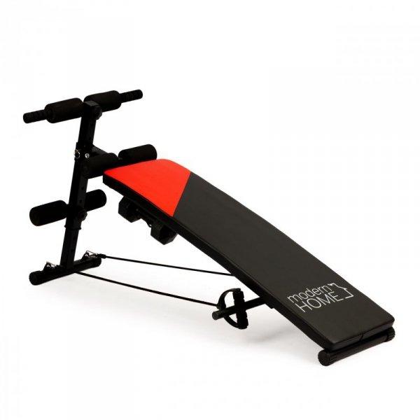 Ławeczka do ćwiczeń ławka treningowa + hantelki 1,5kg